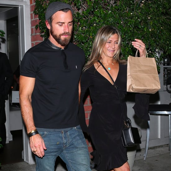 Jennifer Aniston's Black Crossbody Bag