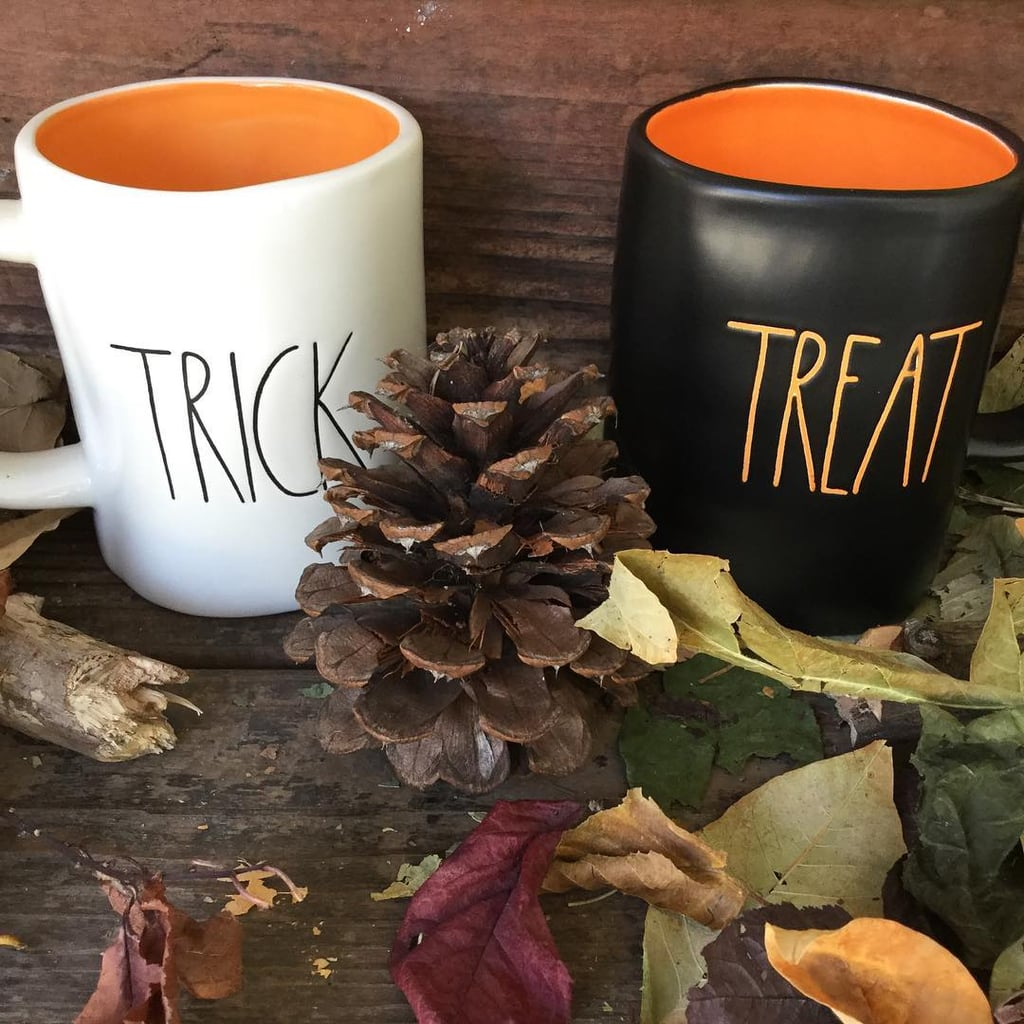 rae dunn halloween mugs   popsugar family