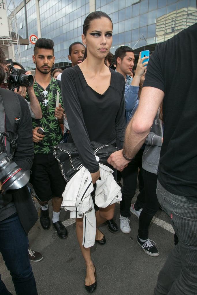 Adriana Lima After Givenchy