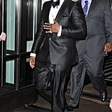 "Most men are uncomfortable in a tux, but not Sean ""Diddy"" Combs. He should just live in his. So sharp."