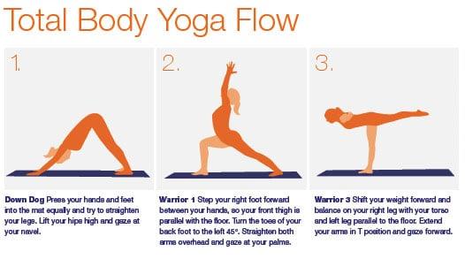 Print It: Total Body Yoga Flow