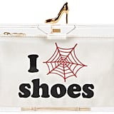 Charlotte Olympia Transparent Pandora Loves Shoes Clutch