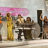 Destiny's Child, Jewel, Mary J. Blige, Queen Latifah, and Whitney perform at VH1 Divas Duets.