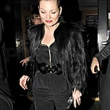 Kate Moss and Jamie Hince Waste No Time Stepping Out For a Date Night