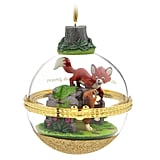 The Fox and the Hound Disney Duos Sketchbook Ornament