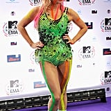 Queen of Body Paint Kesha