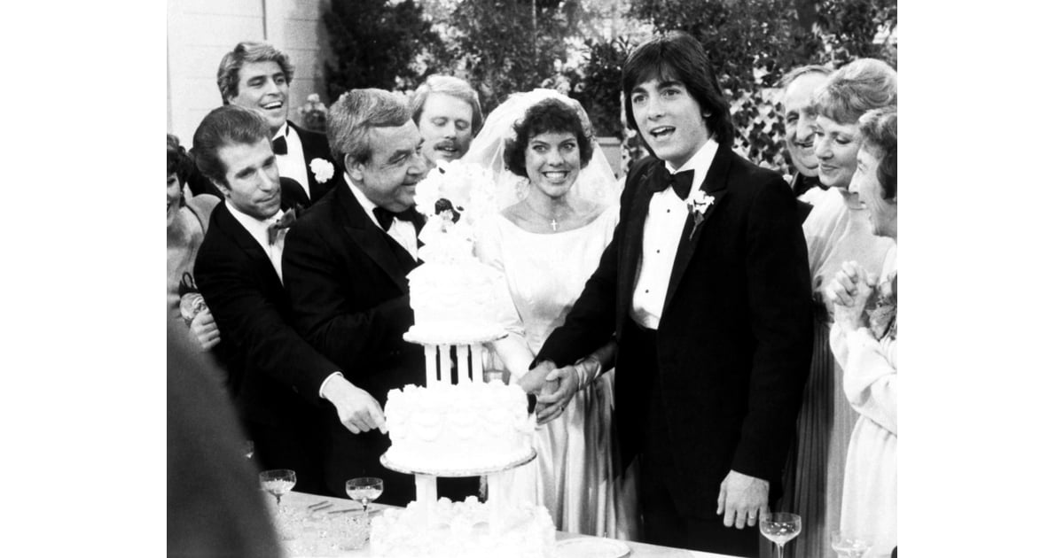Happy Days | TV and Movie Wedding Pictures | POPSUGAR ...