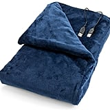 USB Heated Shawl and Lap Blanket ($25)