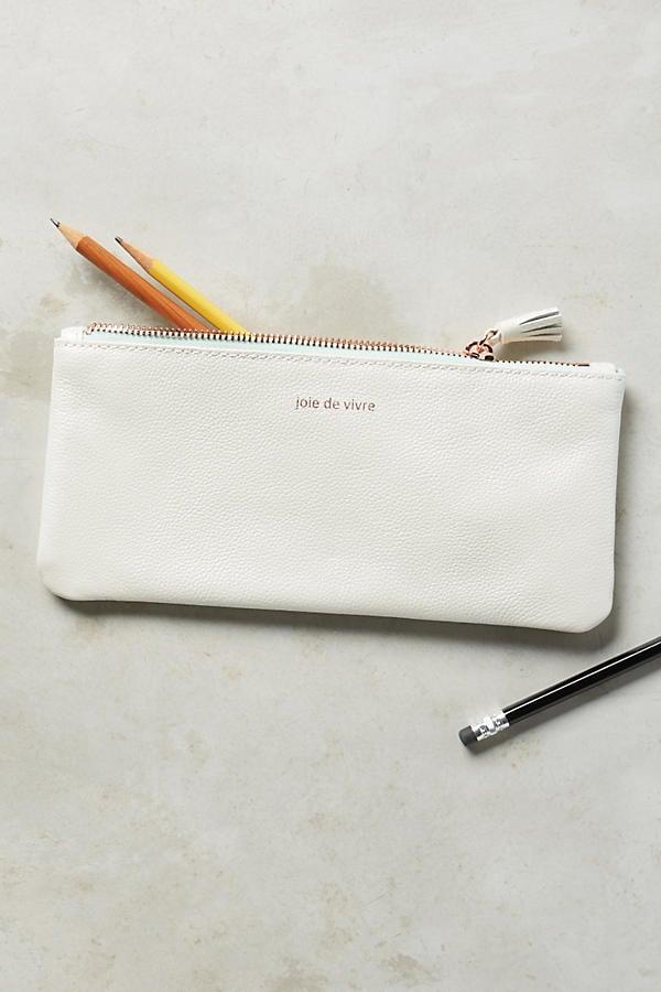 Metallic Idiom Pencil Case ($24)