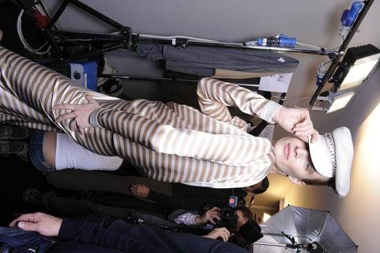 Milan Fashion Week Fall 2012 Backstage