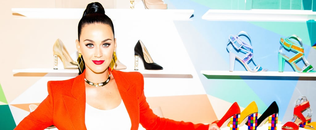 You Can Totally Tell Katy Perry Designed These Technicolour Shoes