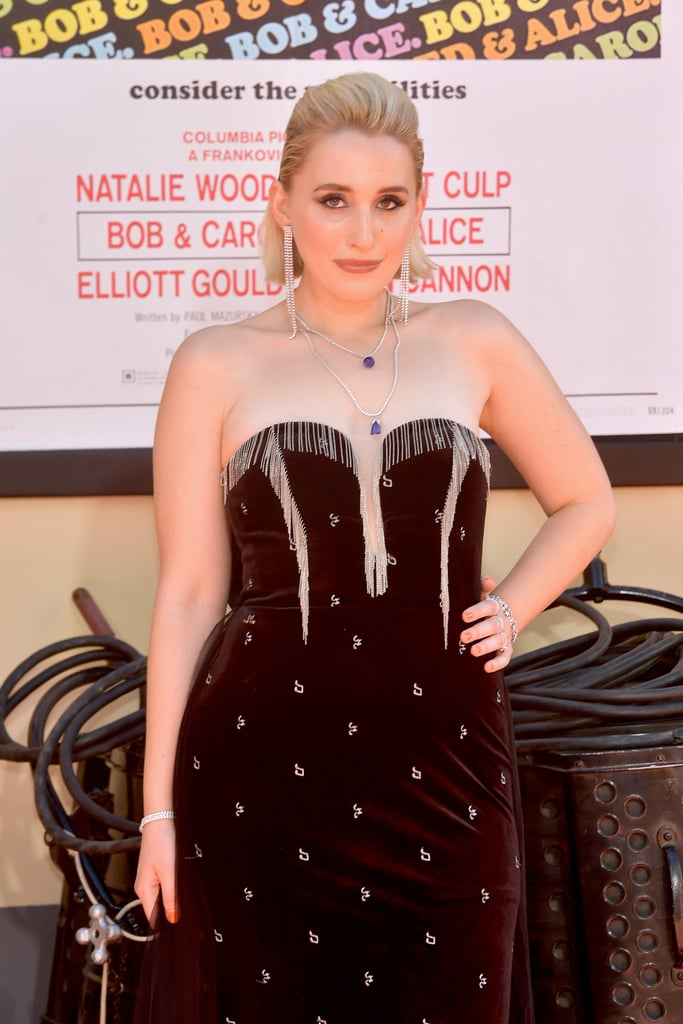 Harley Quinn Smith at the Once Upon a Time in Hollywood LA premiere.