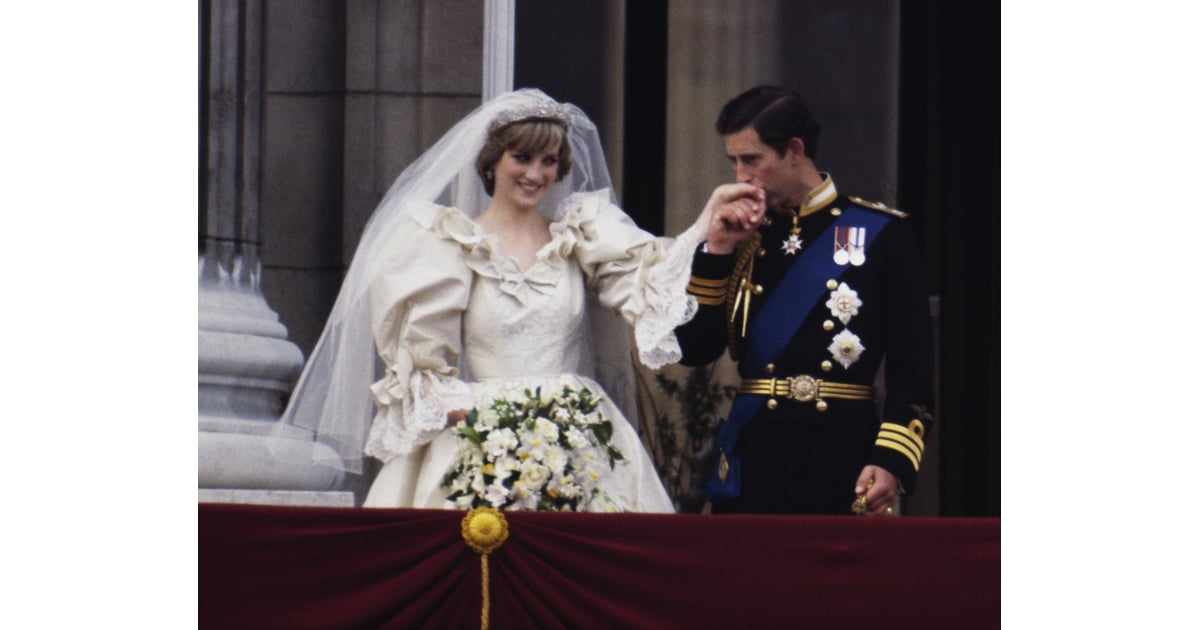 Princess Diana and Prince Charles First Royal Wedding Kiss   POPSUGAR Celebrity Photo 3