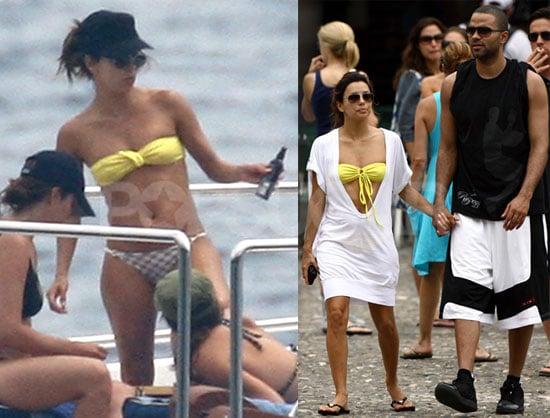 Photos of Eva Longoria in a Bikini on Vacation in Italy with Tony Parker