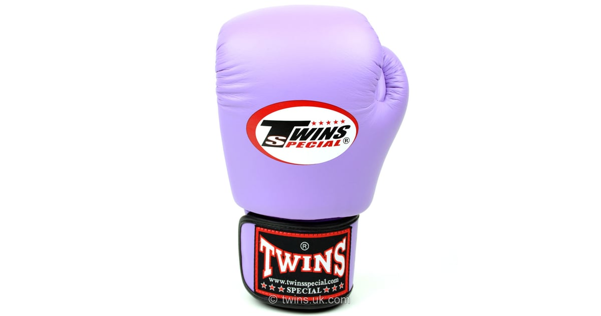 2309081784 Twins Lavender Velcro Boxing Gloves
