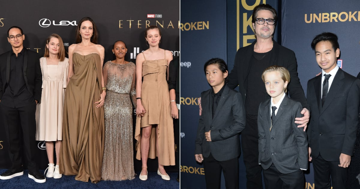 The 6 Jolie-Pitt Kids Are All Officially Teenagers! Learn More About Each of Them.jpg