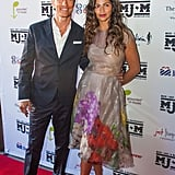 Matthew McConaughey and Wife at a Charity Event in Austin