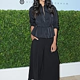 April at the Victoria Beckham For Target Launch in Los Angeles