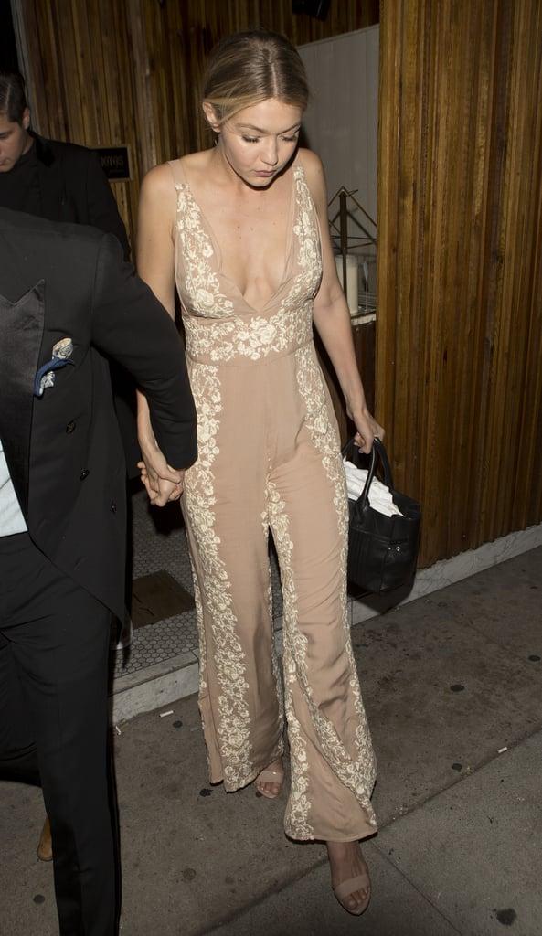 Gigi Looked Effortless on Her Big Night