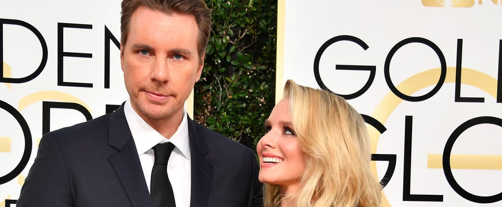 Kristen Bell and Dax Shepard Looked So Freakin' Cute at the Golden Globes