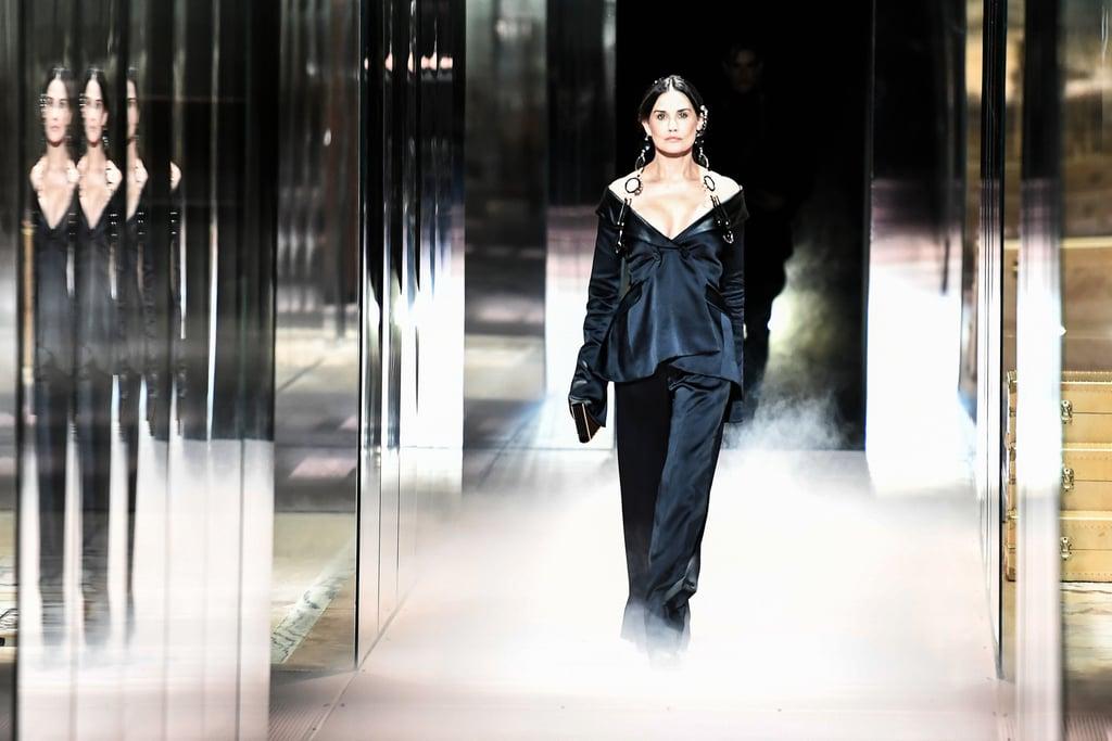 Demi Moore Opened Kim Jones's Debut Collection For Fendi