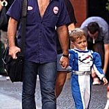 Romeo Keeps the Streets of NYC Safe With Daddy Jon Bon Jovi