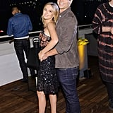 Zoey and Glen channelled the perfect prom pose at an event in August 2016.