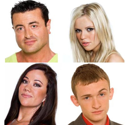 Big Brother: Eviction 1 – Lisa, Luke, Mario & Stephanie