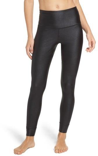 ac4a2ed444305 Reebok Women's Metallic High Waist Leggings   Best Fitness Gifts ...