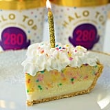 Halo Top Birthday Pie