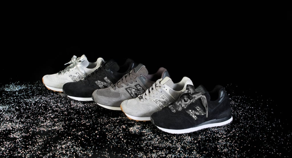 New Balance's Swarovski Crystal Sneakers Are So Damn Shiny, You Need Sunglasses to Admire Them