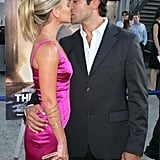 The two showed sweet PDA as they attended the NYC premiere of The Great Raid in August 2005.