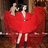 Sofia Carson Wearing Giambattista Valli x H&M