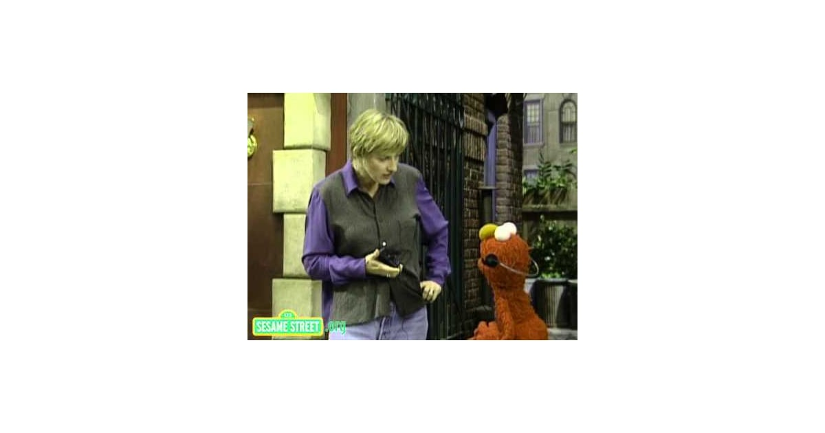 Ellen DeGeneres, 1995 | Celebrities on Sesame Street