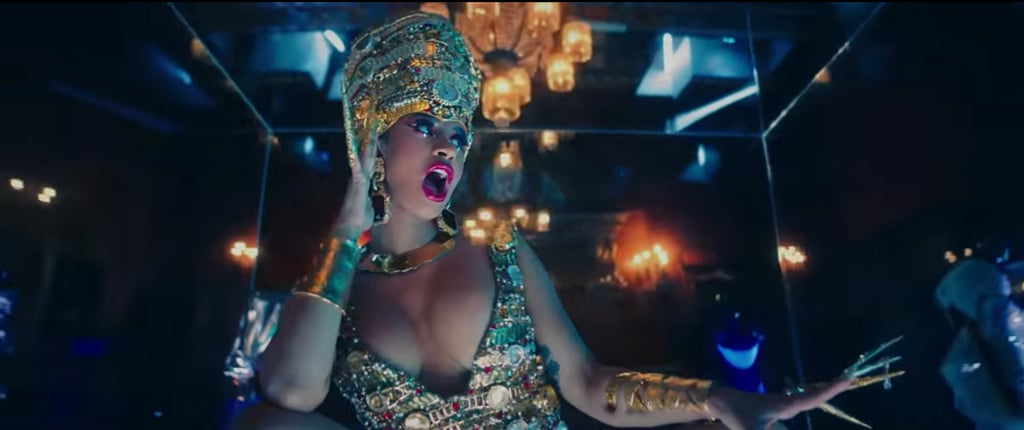 Cardi B Makeup in Money Video
