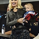 Apollo and Gwen made quite the cute pair at the US Open in 2014.