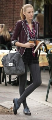 Blake Lively as Serena van der Woodsen's Style on Gossip Girl 2010-12-06 18:30:55