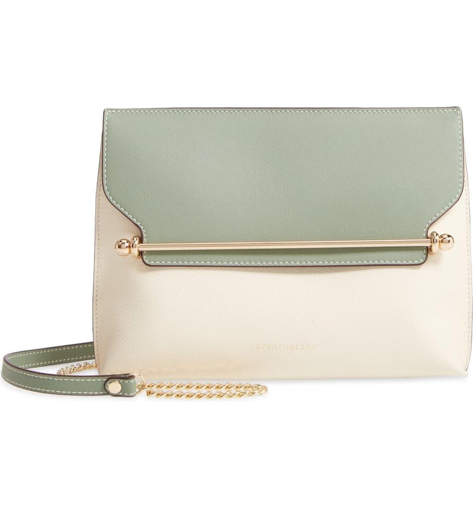 Strathberry Stylist Colorblock Leather Crossbody Bag