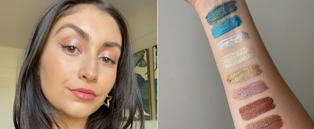 Halsey's About-Face Fractal Glitter Eye Paint Review