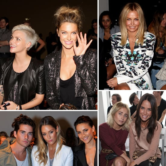 Front Row Celebrity Pictures at Fashion Week Australia