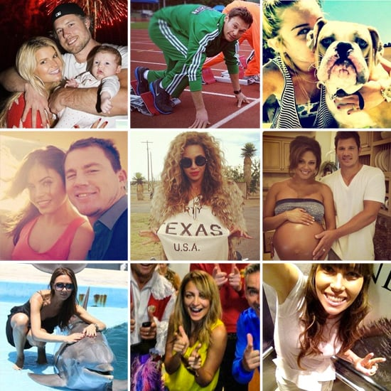 Best Celebrity Instagram and Twitter Pictures | July 2012