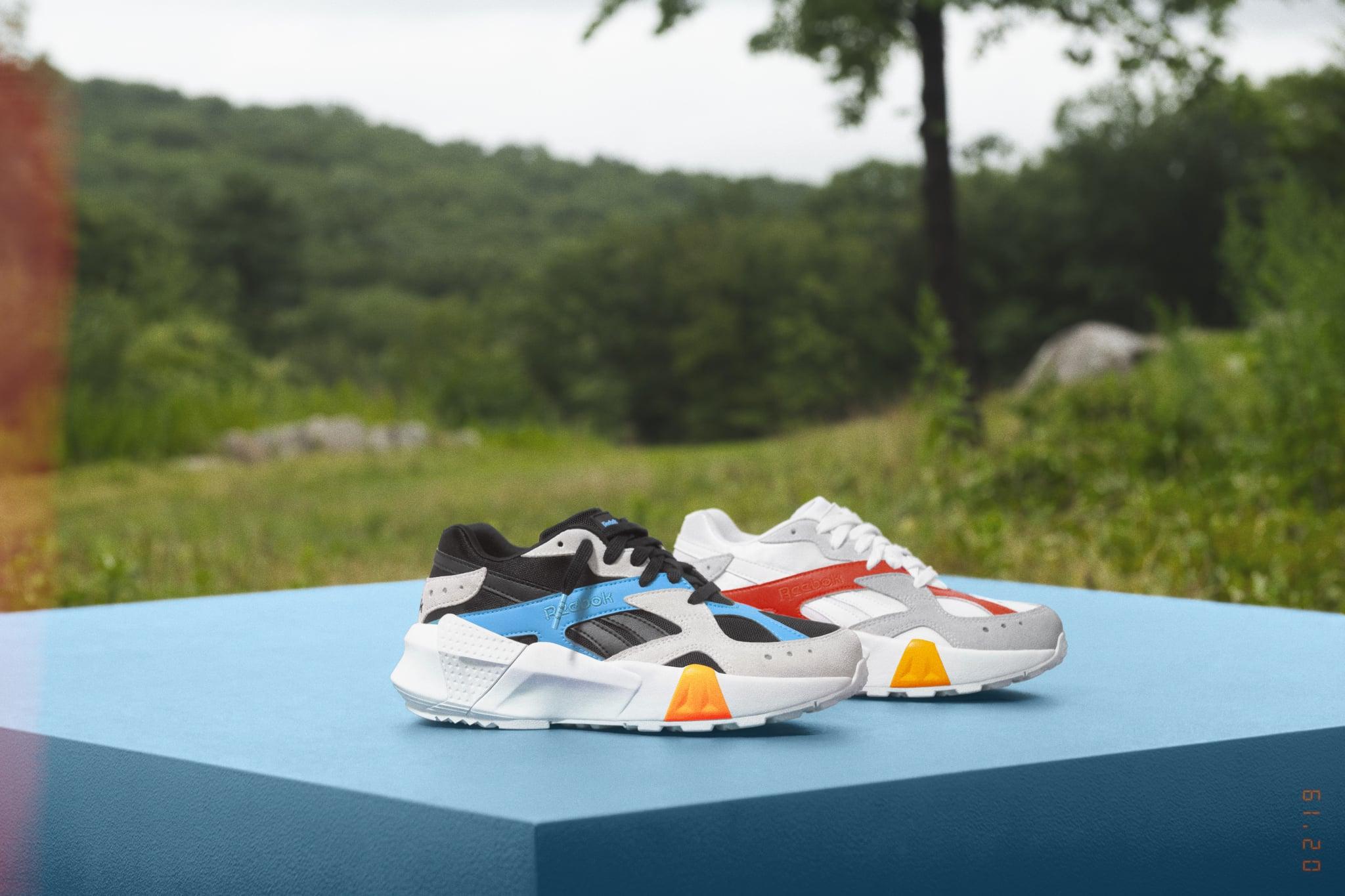 big selection of 2019 100% quality free shipping Reebok Aztrek Double x Gigi Hadid Sneakers | Gigi Hadid's ...