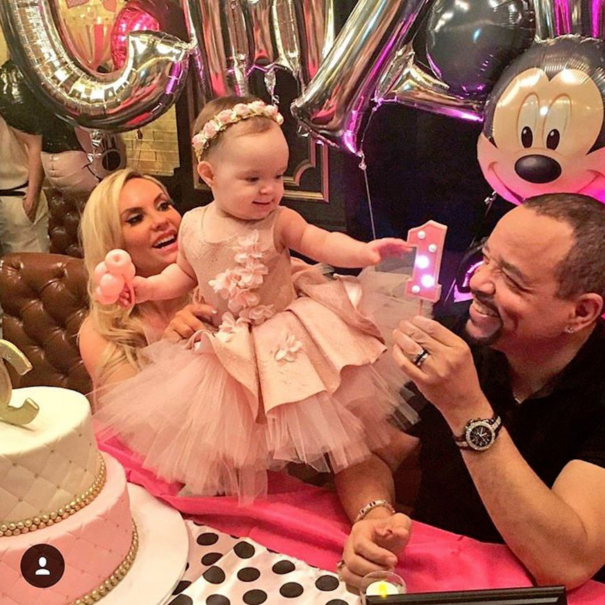 Baby Chanels First Birthday Instagram Pictures 2016 POPSUGAR