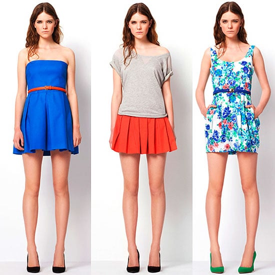 Zara March 2011 ColorDresses Lookbook