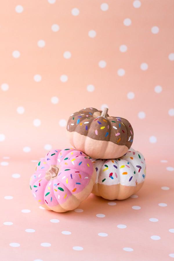 Doughnut Pumpkins