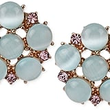Betsey Johnson Rose Gold-Tone Bead and Crystal Accent Studs ($25)