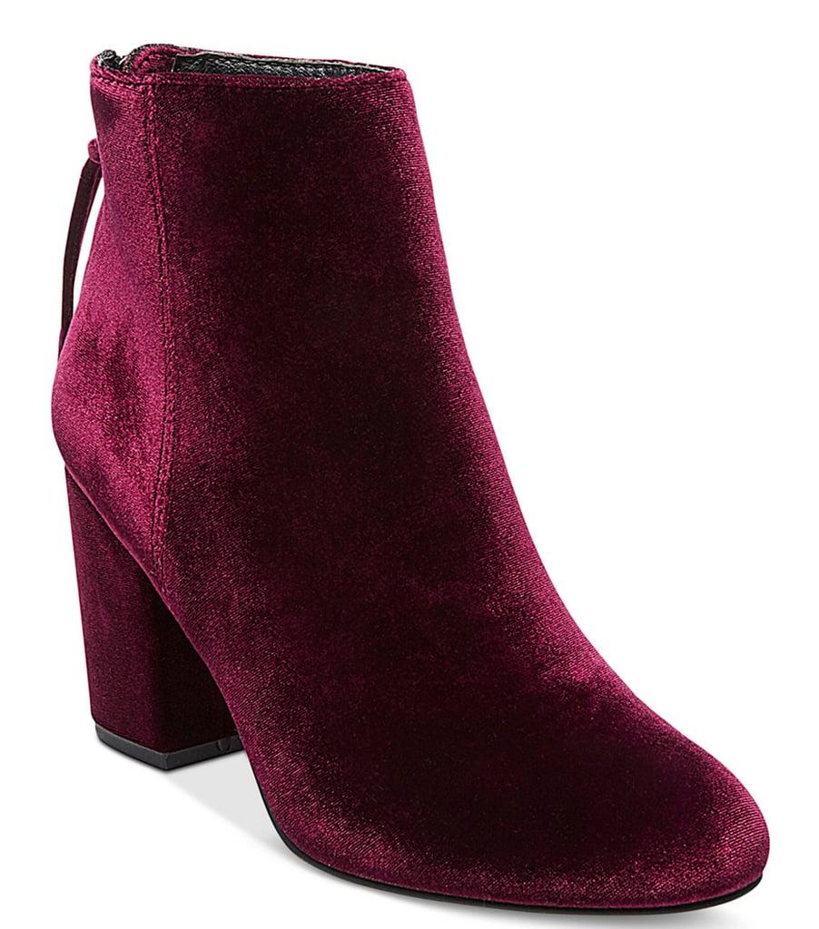 Steve Madden Women's Cynthia Zipper Block-Heel Booties ($129)