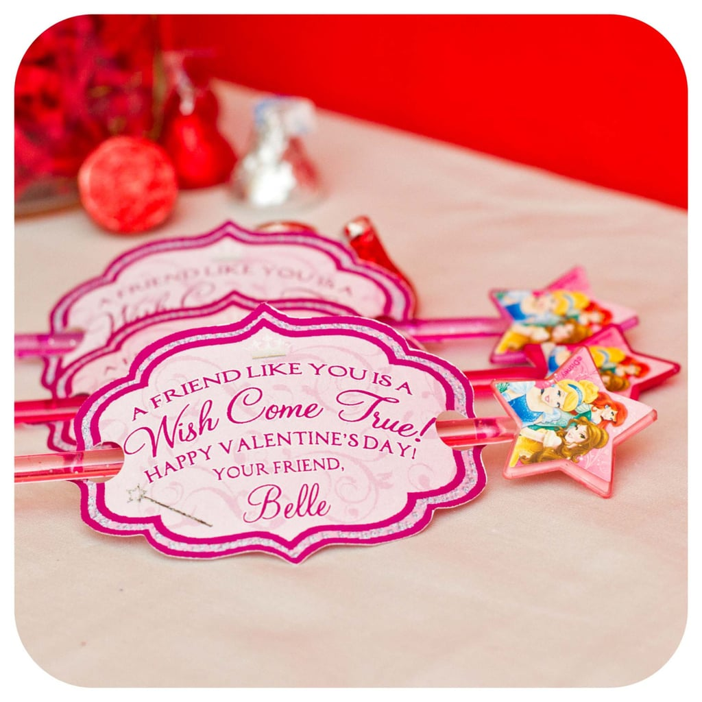 Princess Wands Valentine's Day Cards