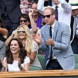 They Cheered at the Wimbledon Tennis Championship