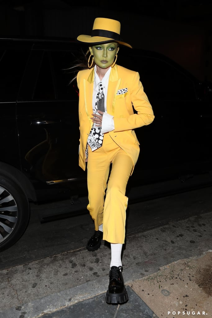Gigi Hadid's The Mask Halloween Costume